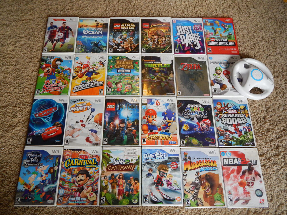 Deals on wii games