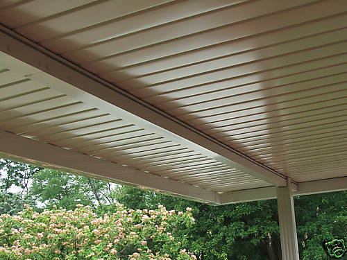 Aluminum Awning Patio Cover Set Back Beam 20 Foot Ebay