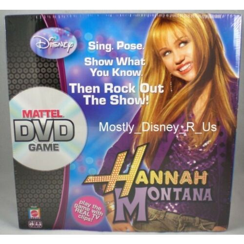 new-disney-channel-mattel-hannah-montana-dvd-board-game-2007-miley-cyrus-sealed