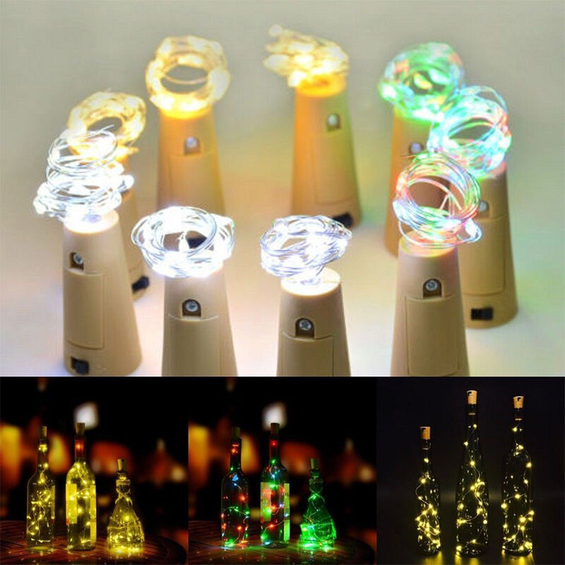 Fortune Light My Bottle String Lights Wine Bottle Led