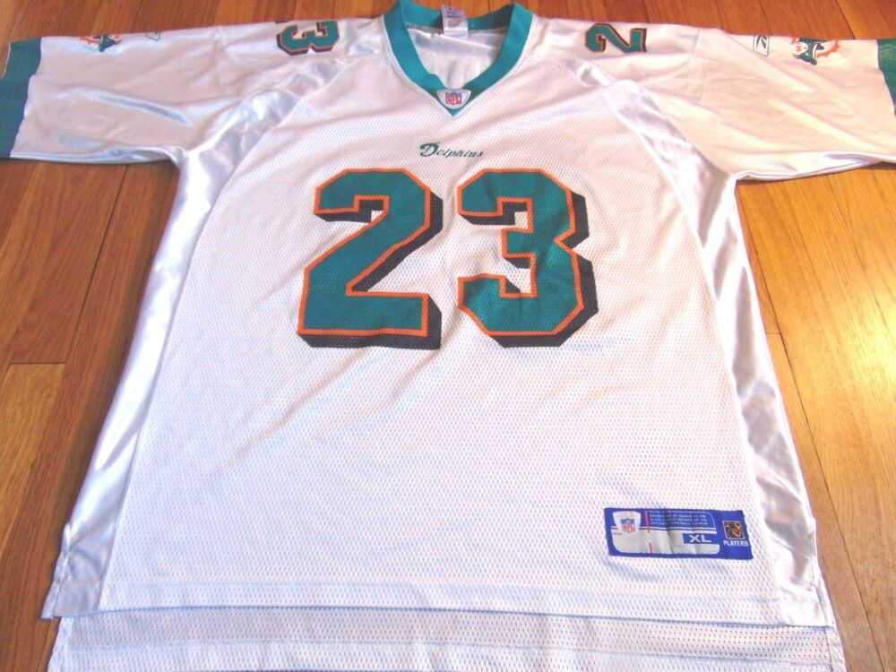 409cb928 REEBOK NFL EQUIPMENT MIAMI DOLPHINS RONNIE BROWN JERSEY SIZE XL | eBay