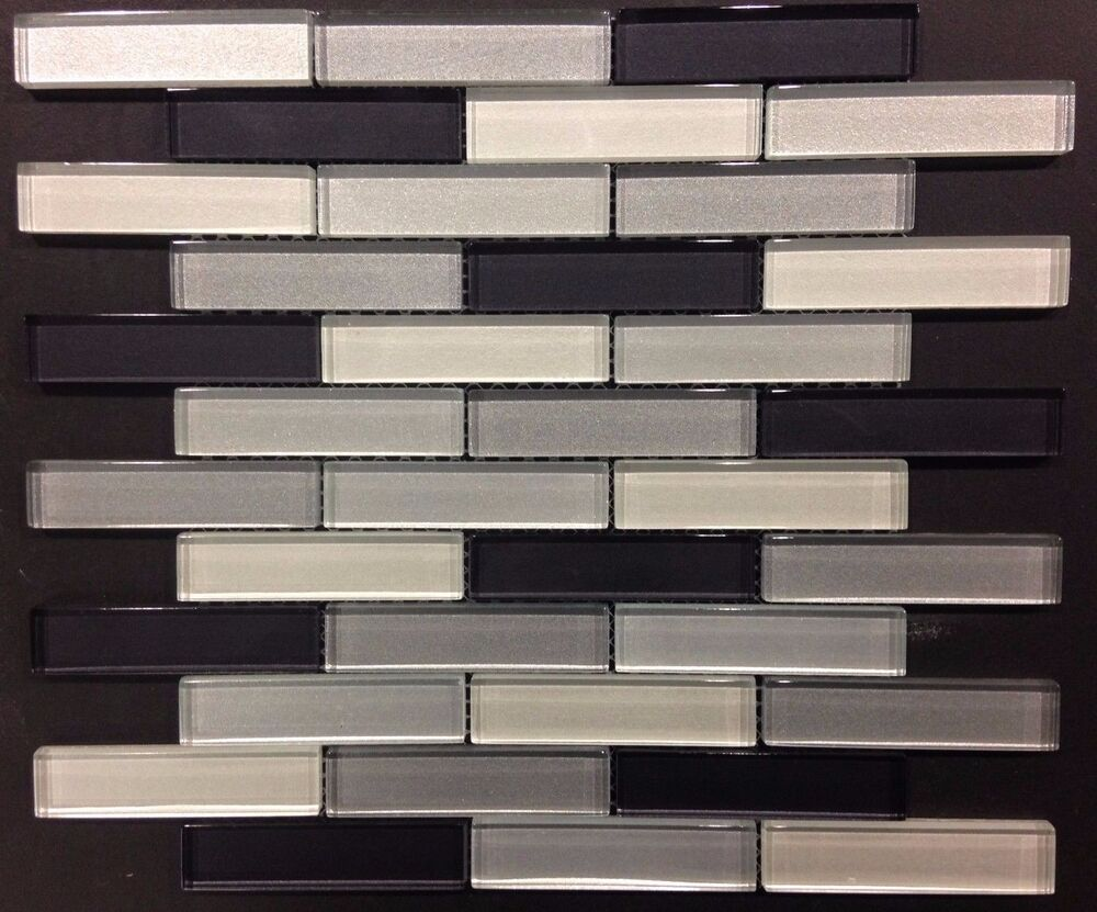 black glass tiles for kitchen backsplashes subway grey black glass mosaic kitchen backsplash bathroom 26487