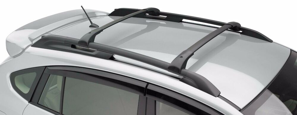 crossbars roof racks 2013 2017 subaru xv crosstrek. Black Bedroom Furniture Sets. Home Design Ideas