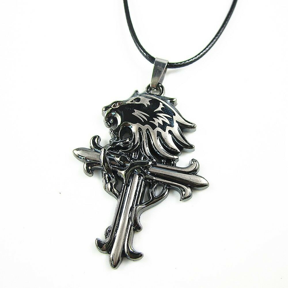 Lionheart Pendant Mens stainless steel lion head cross pendant chain sleeping mens stainless steel lion head cross pendant chain sleeping lionheart necklace ebay audiocablefo