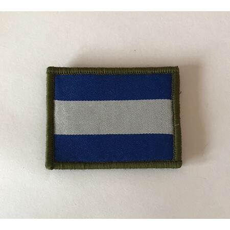 img-AAC TRF Badge, Army Air Corps MTP TRF Patch, Blue & White, Military Hook & Loop