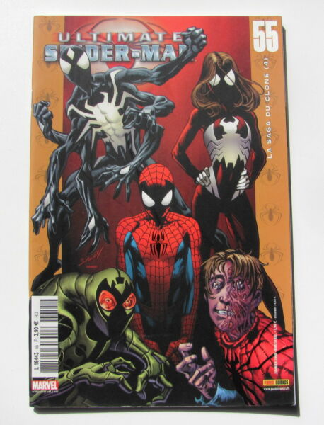 SPIDER-MAN ( ULTIMATE )- N° 55 - COMICS - MARVEL FRANCE