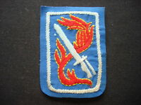 US Army 198th Light Infantry Brigade Vietnam War Hand Made Patch