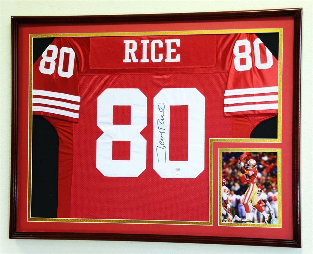 XL Double Matted Jersey Frame Framed Display Case NFL MLB NHL NBA ...