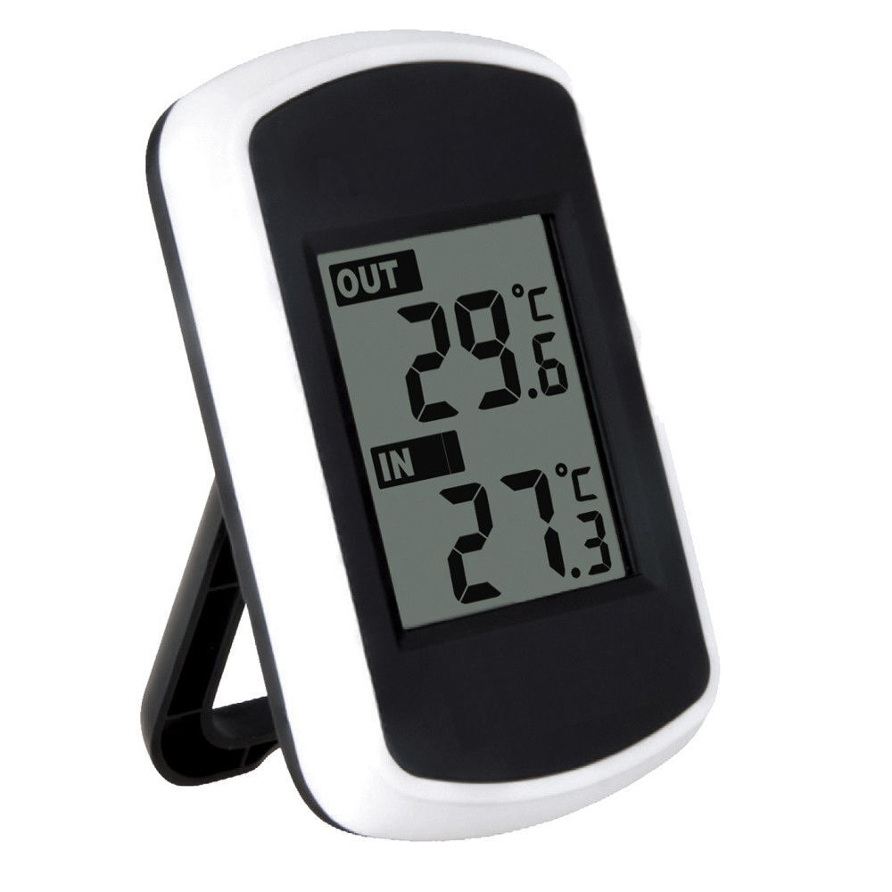 innen au en digital lcd funk thermometer wetterstation mit sensor neu ebay. Black Bedroom Furniture Sets. Home Design Ideas