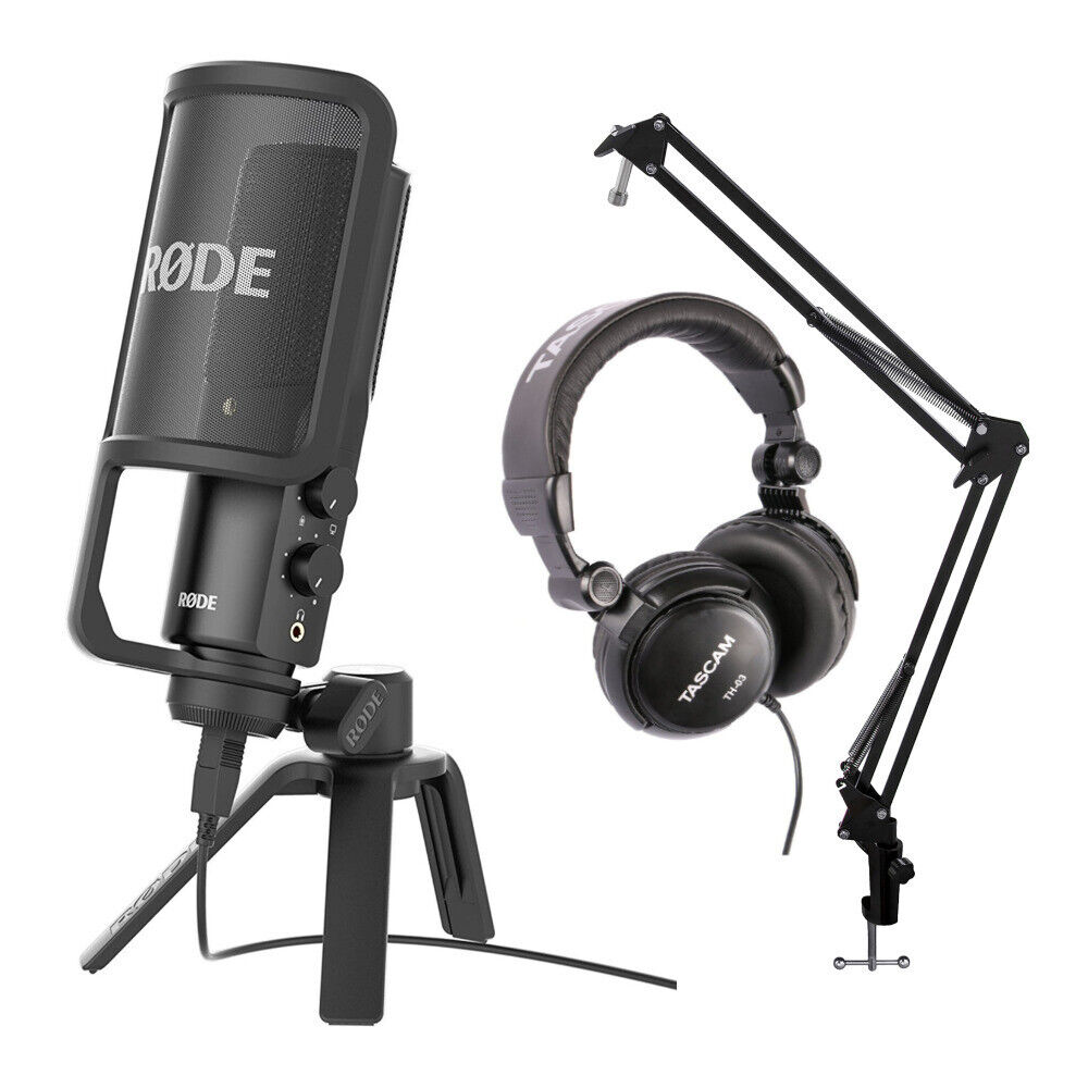 how to put a pop filter on a mic arm