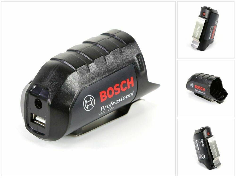 bosch gaa 12v professional akku usb ladeger t adapter f r 12v 10 8v 061880004j ebay. Black Bedroom Furniture Sets. Home Design Ideas