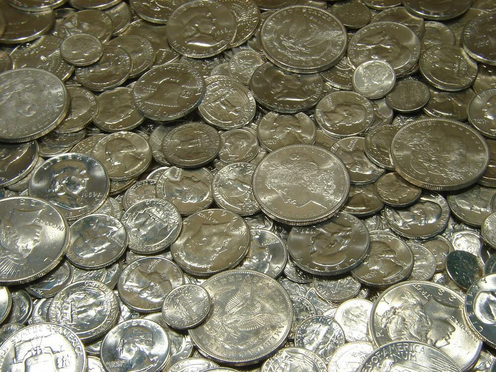 Pre 1964 Uncirculated Us Silver Coins Bu Lot Collection W
