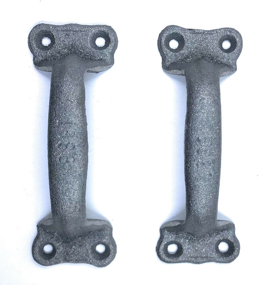 Rustic Barn Door Pull Handles: Cast Iron Antique Style Rustic Barn Gate Pull Shed Door