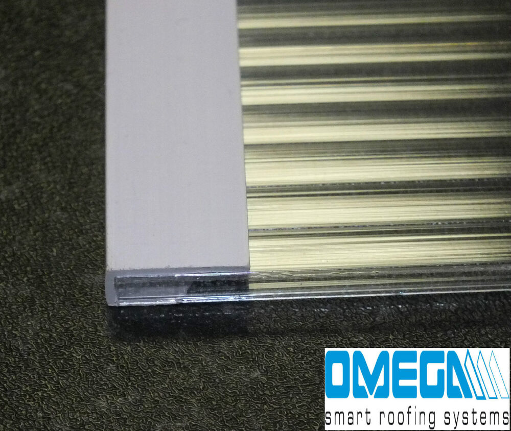 pvc strengthening strip for 4mm greenhouse polycarbonate sheet pack of 2 ebay. Black Bedroom Furniture Sets. Home Design Ideas