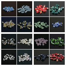 40 Pieces 4x8mm Long Bicone Crystal beads