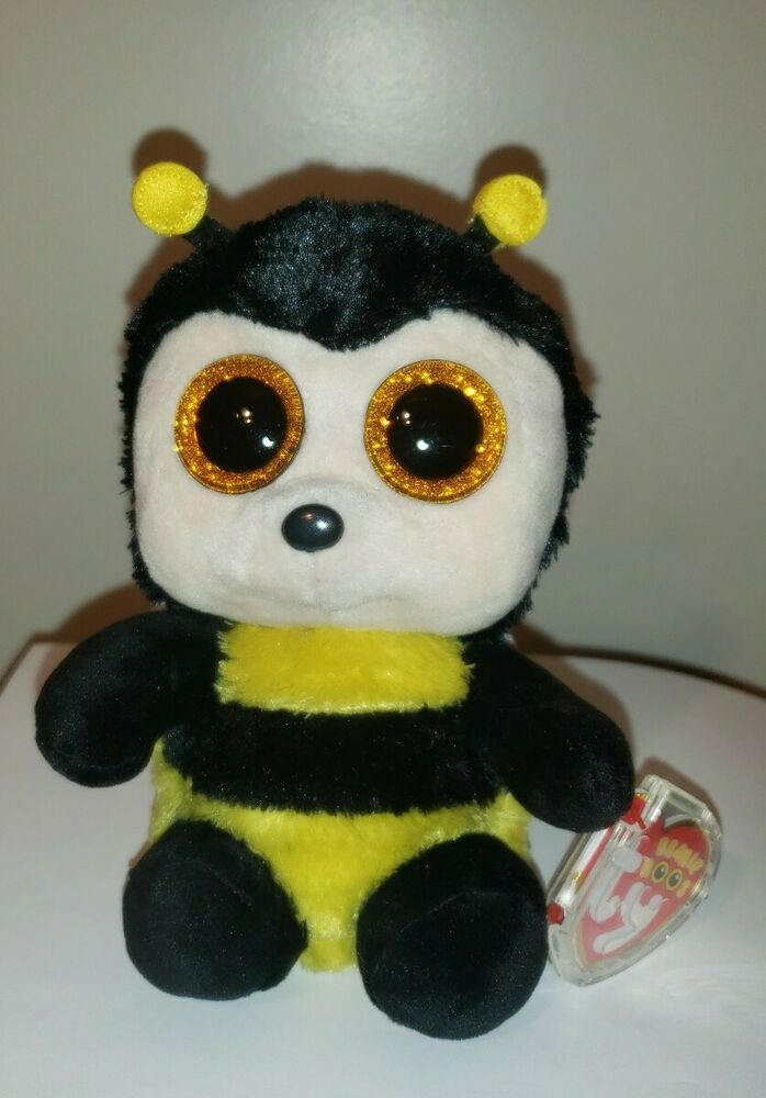 Ty Beanie Boos ~ BUZBY the Bumble Bee (6 Inch) NEW MWMT 8421368495 ... c2792d7d6f8