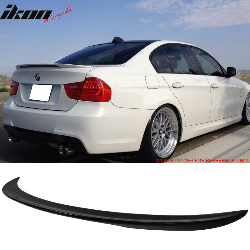 06-11 BMW 3 Series E90 Sedan Performance Painted Jet Black