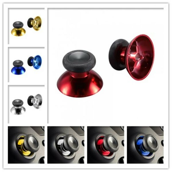 Chrome Design Analog Thumbstick Replacement Part for Xbox One S Elite Controller
