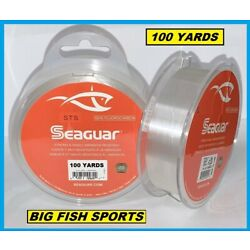 Kyпить SEAGUAR STS SALMON & TROUT/STEELHEAD FLUOROCARBON LEADER- PICK YOUR SIZE!  на еВаy.соm