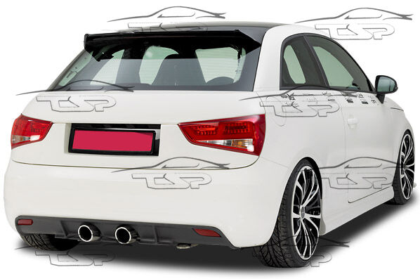rear bumper spoiler lower diffusor for audi a1 from 2010. Black Bedroom Furniture Sets. Home Design Ideas