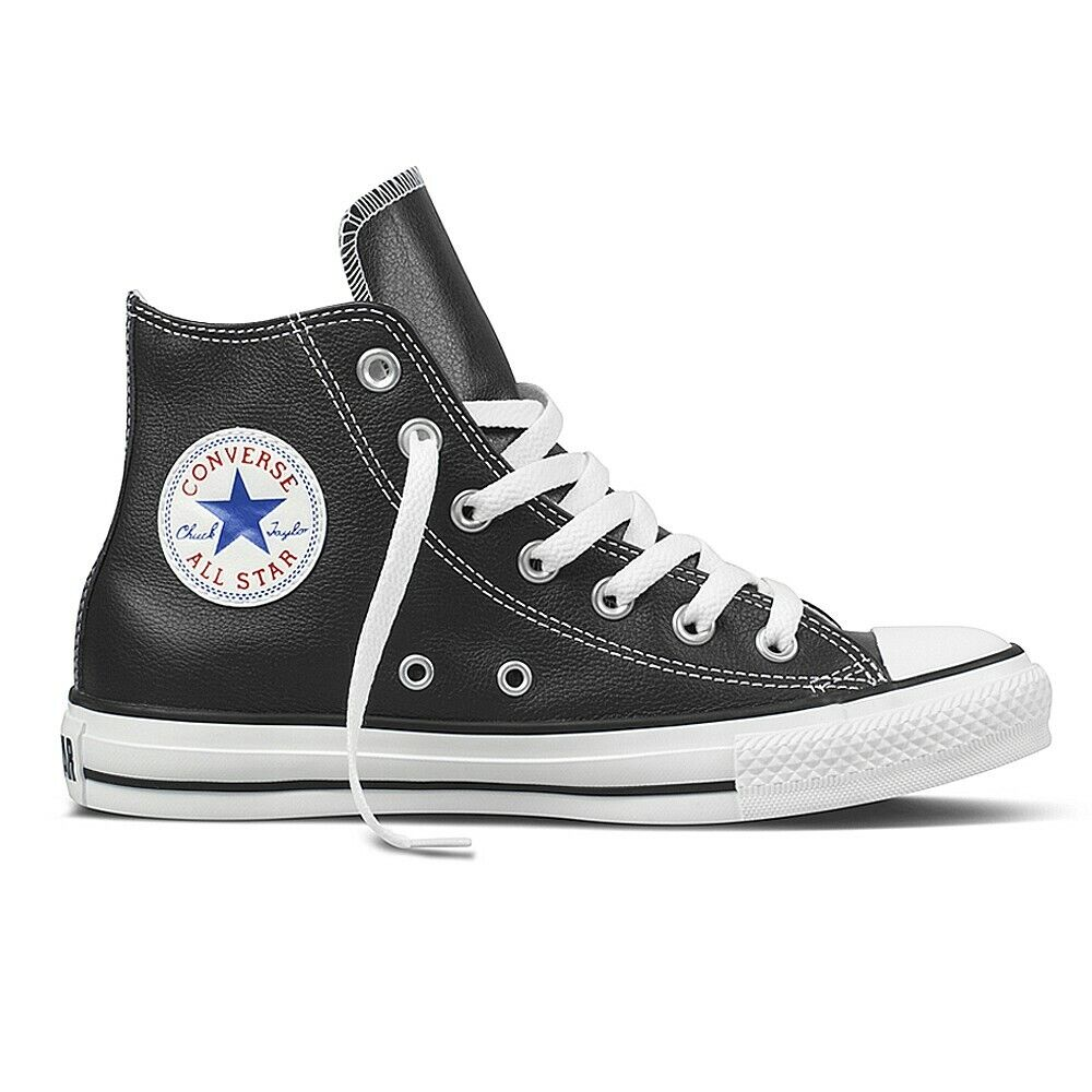 converse chuck leder all star sneaker turnschuhe damen. Black Bedroom Furniture Sets. Home Design Ideas