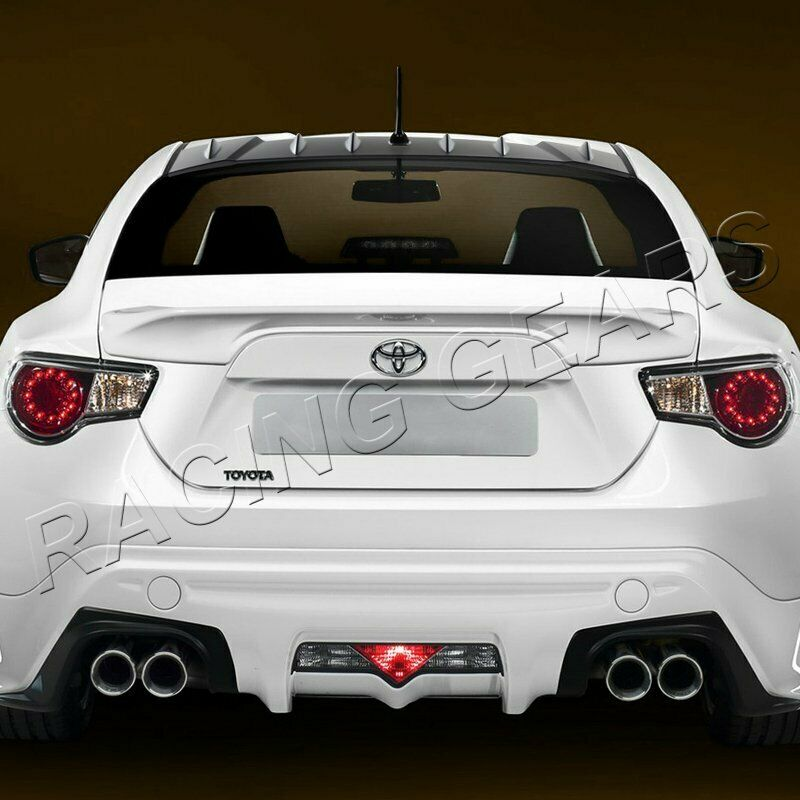 Details About Fit Scion Frs Subaru Brz Black Rear Roof Shark Fin Style Vortex Spoiler Wing