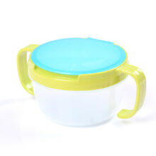 Baby Kid 360 Rotate Spill-Proof Bowl Dishes Tableware Snack Bowl Food Container
