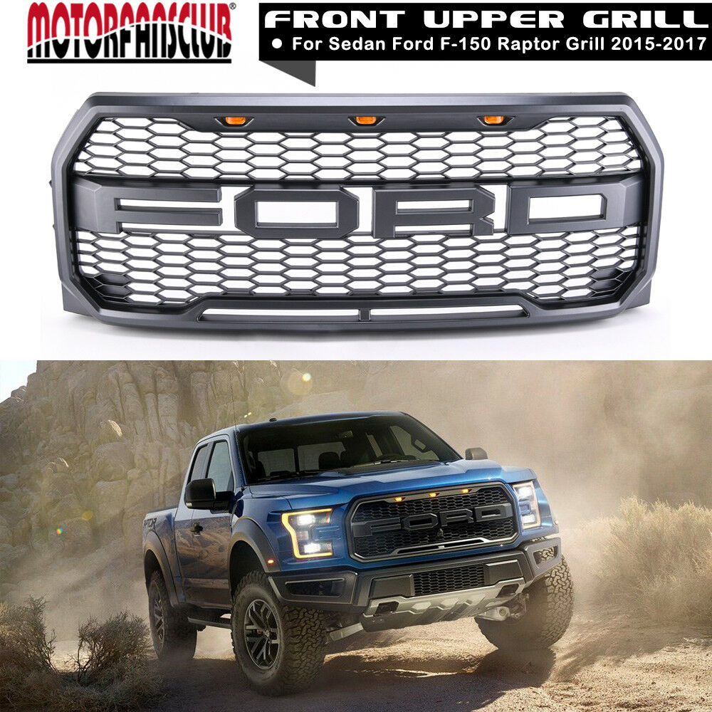 Ford Excursion 2015 >> For 2015 2016 2017 Ford F150 Raptor Conversion Packaged FORD Letter Grille Grill 688988227253 | eBay
