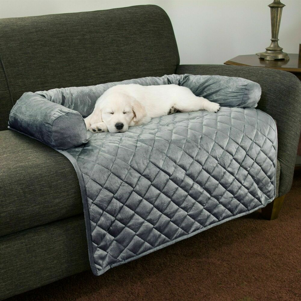 Furniture Protector Pet Cover Pillow Dogs Cats Memory Foam Bolster Comfy Baby Large 35 In Ebay