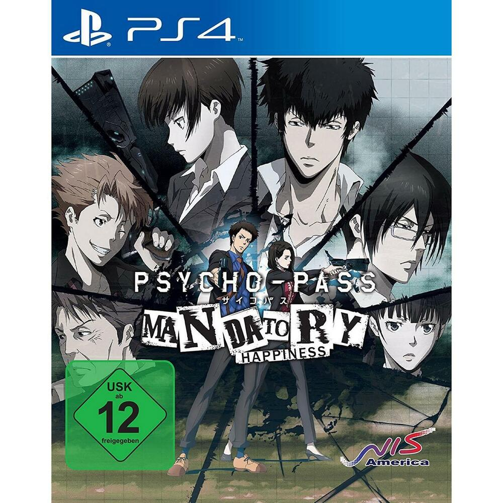 psycho pass mandatory happiness sony ps4 spiel playstation 4 neu ebay. Black Bedroom Furniture Sets. Home Design Ideas