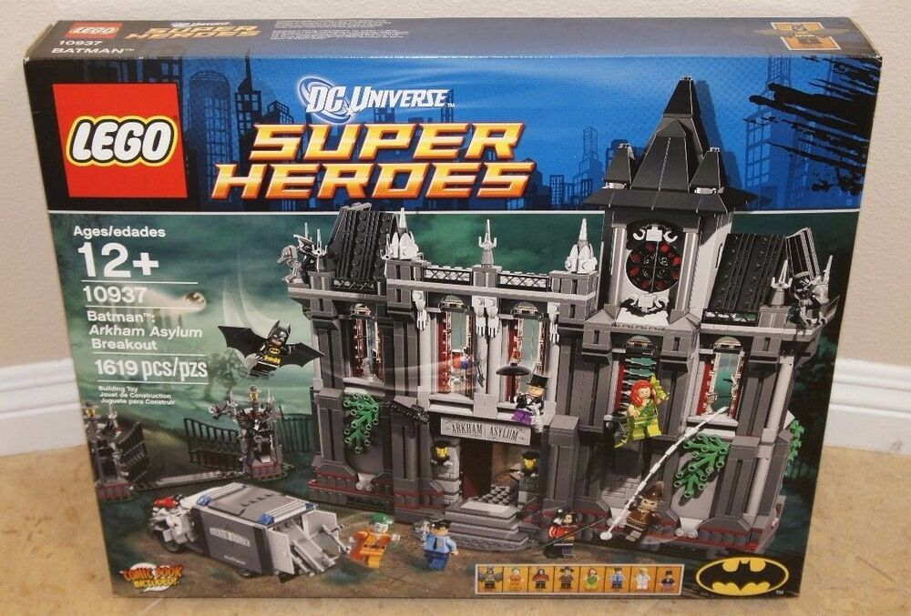 Lego 10937 Batman Arkham Asylum Breakout Misp Sealed Joker Poison
