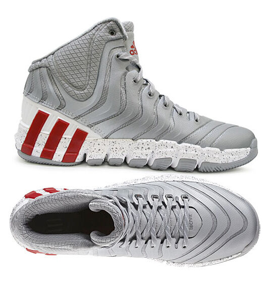 cheaper f78f5 1d33c Adidas Adipure Crazyquick 2 Hi-Top Basketball Mens Trainers Boots Size 6-12