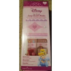 Disney Princess Pre-Pasted Large Accent Border 17.25'' By 15' Long - Removable