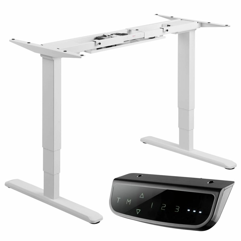 Allcam Electric Dual-motor Height Adjustable Desk Frame / Sit-stand ...