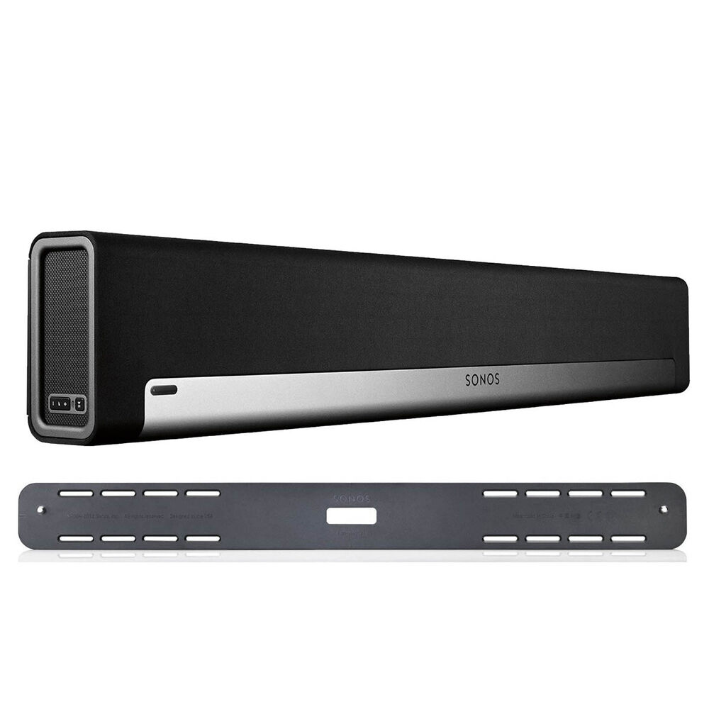 Sonos PLAYBAR Wireless Soundbar and Speaker & PLAYBAR Wall Mount Kit 645759365781 | eBay