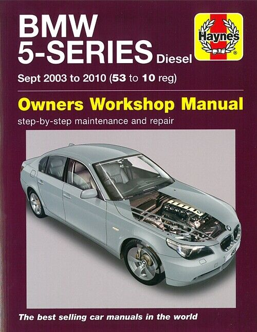 haynes handbuch bmw 5er e60 e61 diesel reparaturanleitung. Black Bedroom Furniture Sets. Home Design Ideas