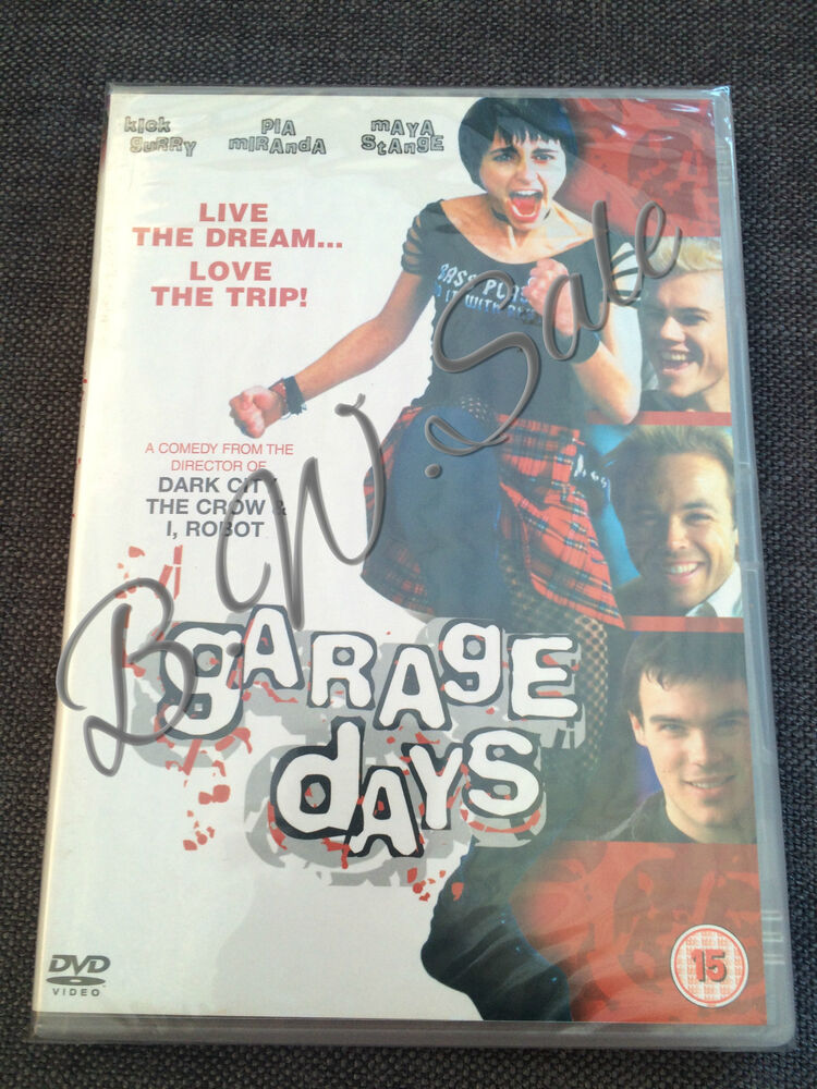 Details about Garage Days DVD New Sealed Sex Drugs Rock and Roll Comedy