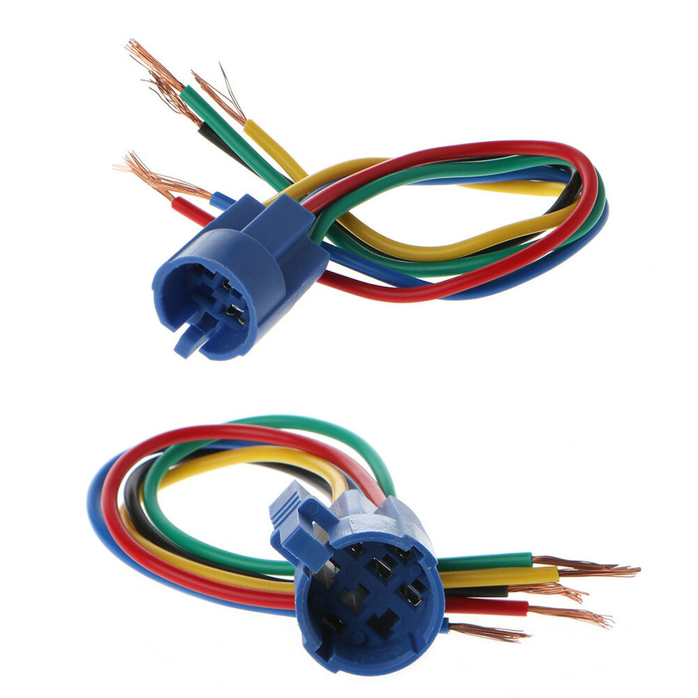 5 Pin 16 19mm Connector Wire Wiring Socket Plug Adapter For Push How To Button Switch 1 A Ebay