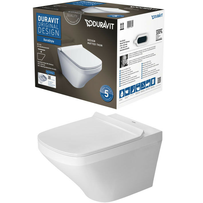 duravit durastyle wand wc combipack sp lrandlos rimless wc. Black Bedroom Furniture Sets. Home Design Ideas
