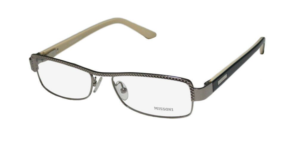6f0fd2ef1d68 Details about NEW MISSONI 11803 HIP BRAND NAME ITALIAN DESIGNER EYEGLASS  FRAME GLASSES EYEWEAR