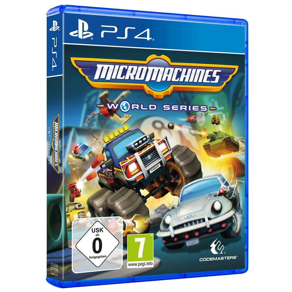 micro machines world series sony ps4 rennspiel neu ovp ebay. Black Bedroom Furniture Sets. Home Design Ideas