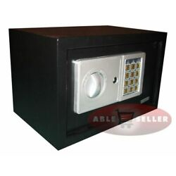 Kyпить NEW DIGITAL ELECTRONIC SAFE SECURITY BOX WALL JEWELRY GUN CASH BLACK MEDIUM SZE  на еВаy.соm