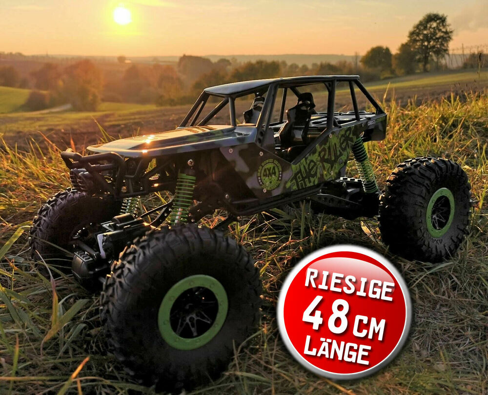 rc 2 4 ghz rock crawler the beast 4wd allrad. Black Bedroom Furniture Sets. Home Design Ideas
