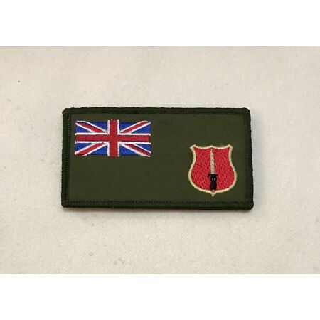 img-School of Infantry Zap Number & Blood Group Badge, ITC, Army Patch, Hook Loop