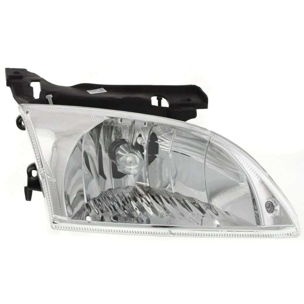 Details About Headlight For 2000 2001 2002 Chevrolet Cavalier Ls Z24 Models Right With Bulb