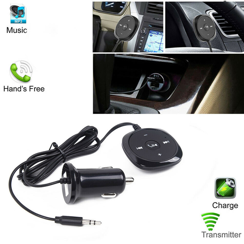 for car fm transmitter bluetooth handsfree aux mp3 player. Black Bedroom Furniture Sets. Home Design Ideas