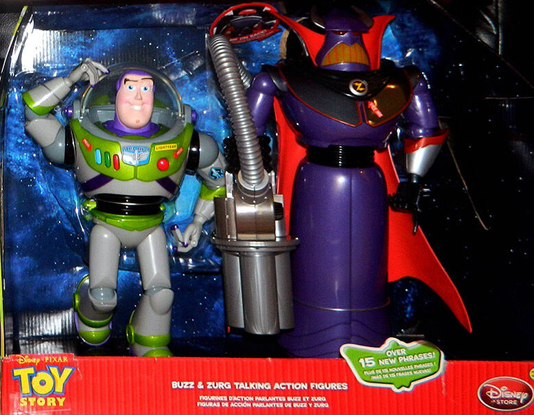 Toy Story Action Figures Set : Toy story disney emperor zurg buzz lightyear talking action