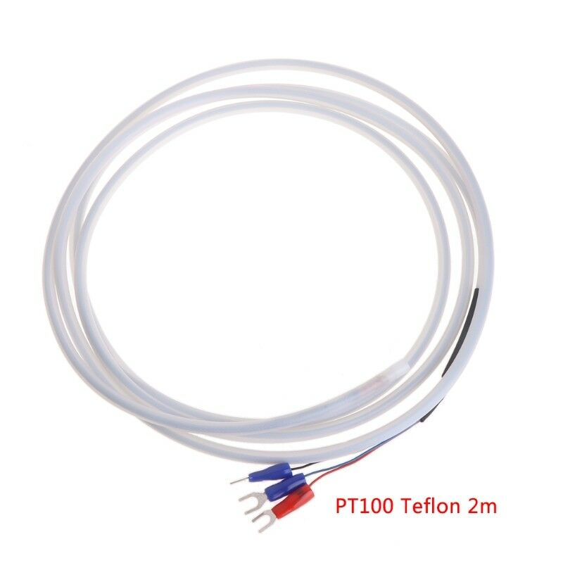 Rtd Pt100 2 Wire Wiring Diagram: 2M Teflon PTFE PT100 RTD 3 Wire Temperature Sensor Oil