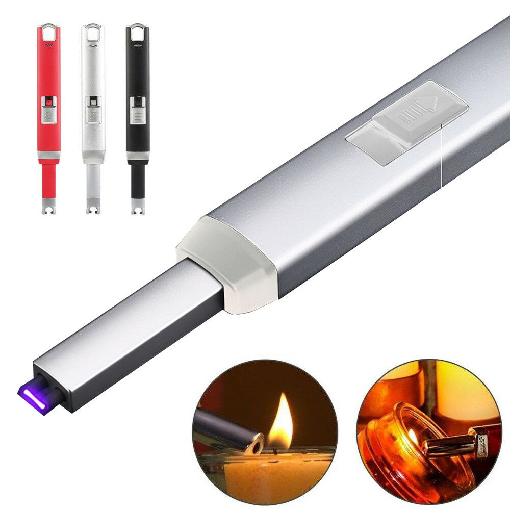 Electric Arc Flameless Cigarette Lighter Plasma Windproof USB Recharge Lighter | eBay