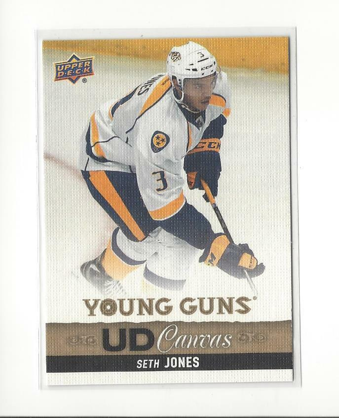 2013-14 Upper Deck Canvas #C108 Seth Jones YG Rookie